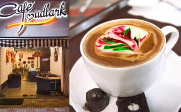 Grab a Coloured Cappuccino @ Café Mudlark, Rohini
