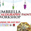 Umbrella Calligraphy Painting Workshop