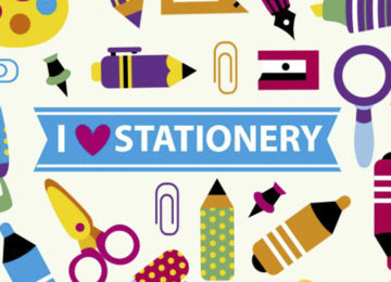 Gear Up For Some Sassy Stationery – Aug 26-Sep 3