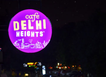 Have A Soul Full @ Café Delhi Heights, Janpath