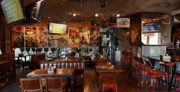 A Biker's Mecca – The Biker's Café, Gurgaon